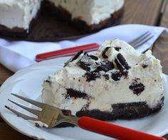 Sweet Recipes, Feta, Oreo, Food To Make, Cravings, Waffles, Cheesecake, Deserts, Ice Cream