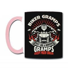 Biker Gramps Coffee & Tea Mug