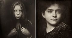 Photographer Uses 166-Year-Old Technique To Shoot Kids, And The Result Is Haunting | Bored Panda