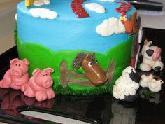 Farm Animal Cake — Children's Birthday Cakes