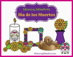 Calavera Poetry Writing Activity by MommyMaestra  TpT