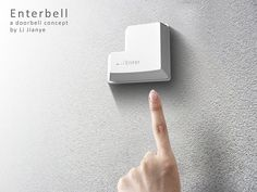 Isn't the EnterBell concept just an absolute stunner? Created by Li Jianye, this doorbell takes its inspiration from one of the most famous. Doorbell Button, Office Interior Design, Inspired Homes, Smart Home, Decorating Your Home, Geek Stuff, At Least, House Design, Concept