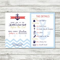 Last Sail Before the Veil Bachelorette Printable by WintsPrints