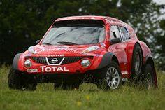 Nissan Juke Buggie Entered in Silk Way Rally
