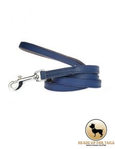 The Midnight Blue Luxury Dog Leash is classic, yet stylish, made from the highest quality leathers with all brass fittings.Grab this luxury leash for your little muffin here: http://www.headsupfortails.com/heads-up-for-tails-midnight-blue-luxury-leash.html #dogs #pets #petlovers #love #dogsarelife #leashes #headsupfortails #huft