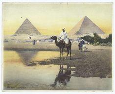 Cairo - the pyramids.