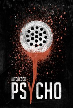 Psycho movie poster redux.