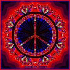 Beautiful peace sign