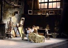 Puccini - La Bohème (Wiener Staatsoper, 2014 - Webcast) #opera #scenery