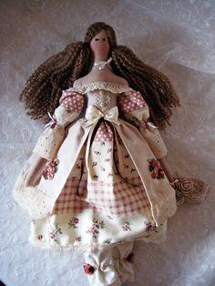 Tilda doll/ Romantic Tilda doll/ Textile doll/ Country Tilda/