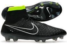 save off a2640 2956c Cheap Nike Magista Obra FG Men s Soccer Cleats-Black White Volt