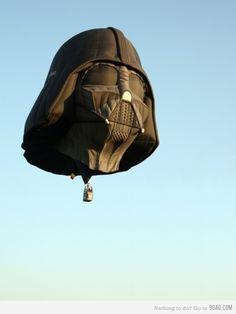 Super saweet Vader Hot Air Balloon