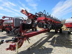 31 row CaseIH 1245 corn planter