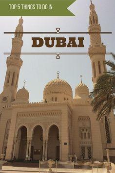 Adoration 4 Adventure's top 5 things to do in Dubai, U.A.E.