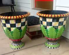 large black urn planter - Google Search
