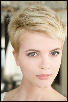 Picture of pixie cut.