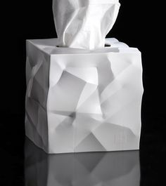 Quirky Tissue Boxes - Kleenex boxes are one of those staple items that many homes have, and if you're looking to spice up these otherwise mundane accessories with . Box Design, House Design, Architecture Design, Geometric Origami, Parametric Design, Origami Box, Yanko Design, Texture Design, Tissue Boxes