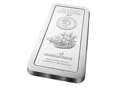 100 Gram Cook Islands Silver Bullion Bar. Minted In Germany.Fast, insured delivery available. VAT Free Silver Storage Available Next day Shipment