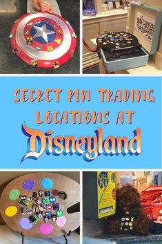 We've found the best secret pin trading locations at Disneyland and California! Disneyland Pin Trading, Disneyland Pins, Disneyland Secrets, Disney Secrets, Disneyland California, Disney Trading Pins, Disney California Adventure, Disney Tips, Disney Drawings