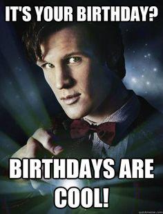 6029e7f40c9945d927f207109550b0e6 birthday memes happy birthday happy birthday from doctor who by axnakshan things i like