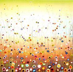 November: The Autumn van Yulia Muravyeva, uit 2013. Wilt u verrast worden? Ga dan naar onze facebookpagina (www.facebook.com/TheArtShopLeiden), daar ziet u een filmpje waarin dit schilderij van alle kanten belicht wordt.
