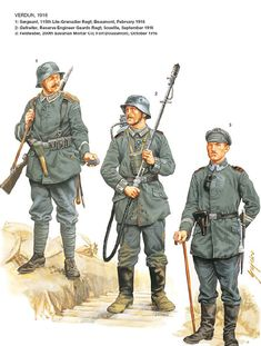 View the Mod DB WW1 Reference Group image German Soldiers 1914-1918