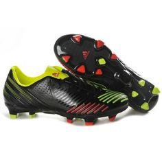 Adidas Predator LZ TRX Noir Rouge Vert Soccer Boots aced1ac79252