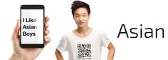 The QR Code T-Shirt for #GayAsianMen & Their Admirers #NewGayCode