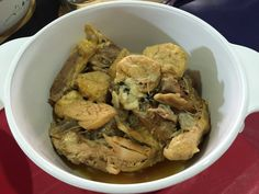 The Right to Be Alive: Braised Tofu Pok Chicken