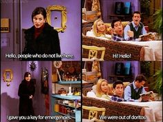 My dream life ;)  - Friends - Monica Geller, Ross Geller, Chandler Muriel Bing, Phoebe Buffay - quote - screencap