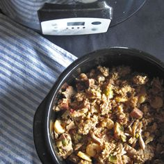 Slow Cooker Jambalaya | Somehow, jambalaya hits the spot for me. I harken it back to the Cajun restaurant that opened right when I got my first post-university job and my own apartment. What once had been a foreign cuisine altogether became soul food. Thus, every once in while, I crave jambalaya. As you prepare this recipe for your family and friends, I hope it will provide you with the same joy that it has provided me for many years! | TraditionalCookingSchool.com