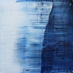 Koen Lybaert - Antartica II [Abstract N°1475] - oil on canvas [90 x 90 x 4] / 2016