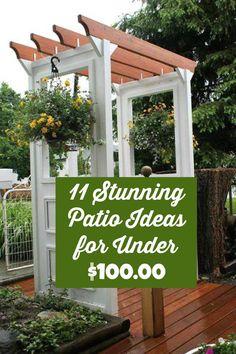11 stunning patio ideas for under $100.00