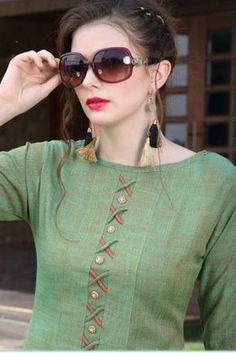 Wholesale Plain Occasional Wear Rayon Long Length Kurti Cataloge | Wholesale Supplier Of Kurti