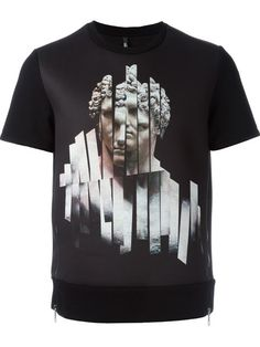 Shop Neil Barrett statue print T-shirt in O' from the world's best independent boutiques at farfetch.com. Shop 300 boutiques at one address.