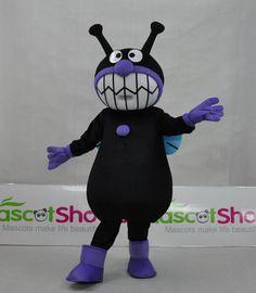 それいけ!アンパンマンキャラクター、バイキンマンの着ぐるみを格安販売中!-http://www.mascotshows.jp/product/baikinman.html