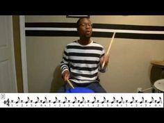 Play, Teach and Learn Rhythm and Bucket Drumming - Basic rhythms2 - YouTube