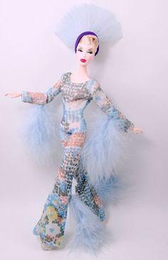 Barbie Dress - Bob Mackie Cher La Plume Jumpsuit