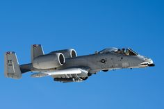 U.S. Air Force Maj. Dan Edgar, 74th Fighter Squadron A-10C Thunderbolt II pilot, flies a low-approach Dec. 3, 2014, over White Sands Missile Range, N.M. The A-10C's primary functions include airborne forward air control, close air support and combat search and rescue. (U.S. Air Force Photo by Airman 1st Class Ryan Callaghan/Released)