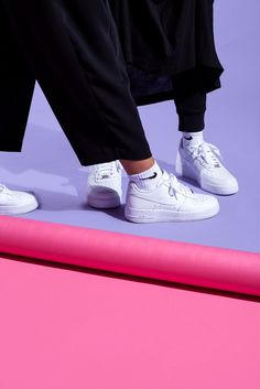Nike Air Force total white... have a look on www.officineconcept.com