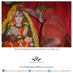 SRI ADI SHANKARACHARYA was one of the greatest Hindu philosophers who led a revival of Hinduism and this day is celebrated as his birth anniversary. Shankaracharya was born in 8th century CE and propounded the philosophy of Advaita Vedanta or non dualism where there is the unity of the soul (atman) with nirgun Brahman (supreme reality). Shankaracharya travelled across the Indian subcontinent to preach his philosophy and gained nirvana at Kedarnath, high in the Himalayas.