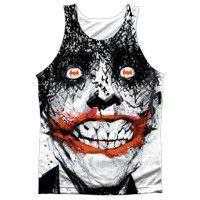 "Batman Joker ""Bats on the Brain"" Tank Top - Adult & Youth (also Tee Shirts)"