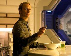 "Michael Fassbender as ""David in ""Prometheus"" Prometheus 2012, David 8, The Covenant, Alien Covenant, Musical Film, Cherik, Sci Fi Films, Ridley Scott, Alien Vs Predator"