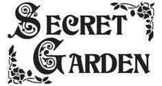 Cute Secret Garden That Must Be In Your Garden 14 - Modern Free Stencils, Custom Stencils, Stencil Designs, Johanna Basford Secret Garden, Garden Quotes, Price Quote, Garden Signs, Painted Signs, Lettering