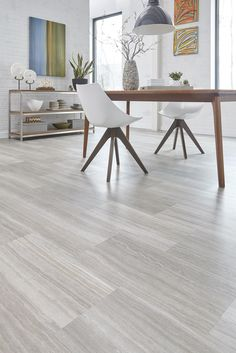 STAINMASTER® 18-in x 36-in Manor Travertine Luxury Vinyl Tile