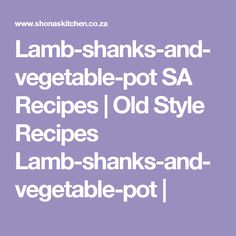 Favourite South African Recipes :: Patti`s-delicious-chicken-pie Chicken Mushroom Casserole, Lamb Shank Recipe, Lamb Shanks, South African Recipes, Yum Yum Chicken, Chicken Recipes, Stuffed Mushrooms, Lunch, Dinner
