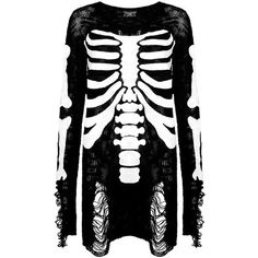 Ribcage Knit Sweater [B] | KILLSTAR