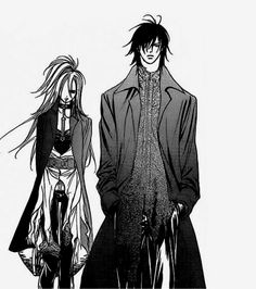 Mogami Kyoko & Tsuruga Ren as Setsu Heel and Cain Heel (Skip Beat!)