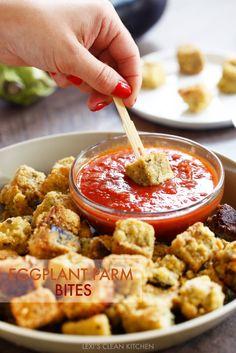 Eggplant Parm Bites | Lexi's Clean Kitchen