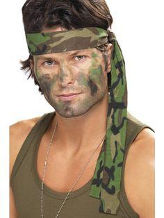 Army Headband | Frojos.co.uk